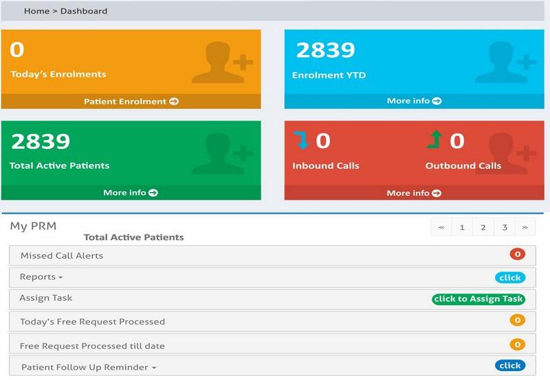 Interactive Web Portal -WEbRx